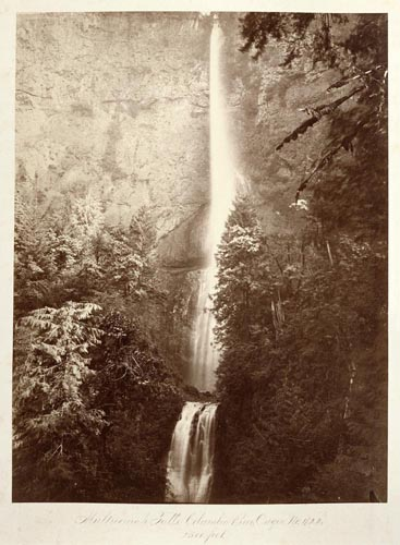 #422 - Multnomah Falls, Front View, Oregon