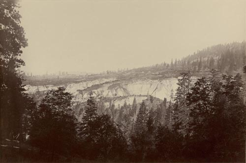 #527 - Relief Hill Mine, General View, near North Bloomfield, Nevada County