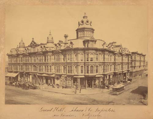 #382 - Grand Hotel, Johnson and Company, Proprietors, San Francisco