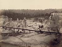 516 - Malakoff Diggings, near North Bloomfield, Nevada County