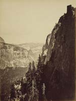 679 - Distant View of Nevada Fall, Yosemite