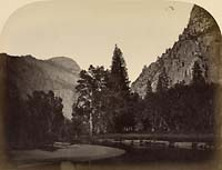 45 - Camp Grove, Looking Up River, Yosemite