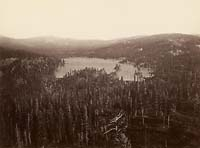 502 - English Dam, Distant View, Nevada County