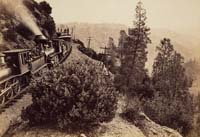 1112 - Rounding Cape Horn, Central Pacifc Railroad, Placer County
