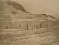 S-108 - Pulpit Terraces, Mammoth Hot Springs, Yellowstone National Park, Wyoming Territory