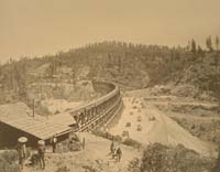 1115 - The Secret Town Trestle, Central Pacifc Railroad, Placer County