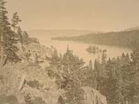 1007 - Emerald Bay, View from the Cascade, Lake Tahoe, El Dorado County