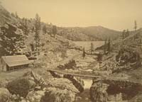 1411 - Bowman Dam and Keeper's Residence, Nevada County