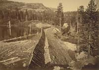 1413 - English Dam from the West, Nevada County