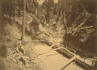 1423 - Malakoff Diggings, Mouth of Tunnel, near North Bloomfield, Nevada County