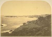 162 - Kent's Point from the Road, City of Mendocino