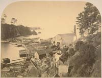 204 - East End of the Noyo River Mill, Mendocino County