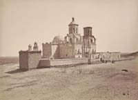 1328 - Mission San Xavier del Bac, near Tucson, Arizona Territory