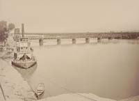 1343 - Railroad Bridge over the Colorado River, at Yuma, Yuma County, Arizona Territory