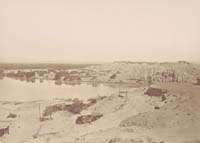 1347 - Fort Yuma from the Arizona Side, Yuma County, Arizona Territory