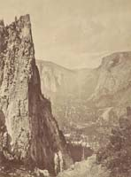 843 - View Down Yosemite Valley from Union Point