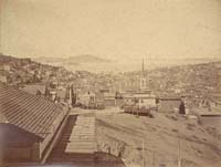 626 - View of North Beach and Alcatraz Island, San Francisco (A)