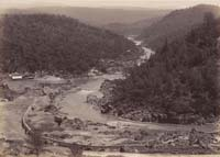 Unnumbered View - Golden Gate and Golden Feather Mining Claims, Feather River, Butte County