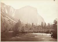 802 - El Capitan, View from Coulterville Road, Yosemite
