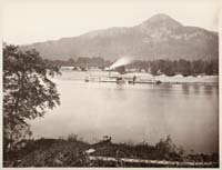 427 - The Steamer Cascade, at the Lower Landing, Washington Territory