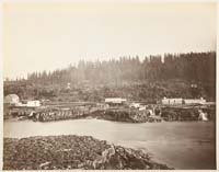 411 - Oregon City and the Willamette Falls, Oregon (B)
