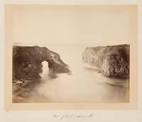 Unnumbered - A Coast View, Rocks (No. 3), Mendocino County
