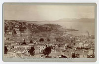 Golden Gate, from Pioneer Park Observatory, Telegraph Hill, S.F.
