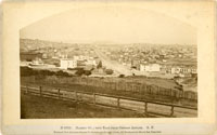 Market St. ; view East from Orphan Asylum. S.F.