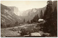 B 2638 - View of Yosemite Valley from Artist's Point.