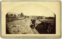 B 4,301. - The Loop; Train Over Tunnel No. 9, S. P. R. R.