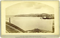 No. B. 5207 - Panorama of Seattle, Puget Sound, W. T. (No 1.)