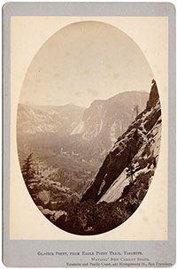 Glacier Point, from Eagle Point Trail, Yosemite.