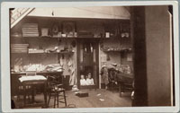 Unnumbered - Photograph of interior of Carleton E. Watkins studio, San Francisco.