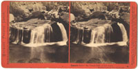 55 - Cascade below the Vernal Fall at Low Water