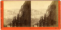 814 - The Nevada Fall from Moran Point