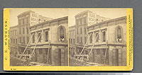 984 - Effects of the Earthquake, Oct. 21, 1868, Railroad House, Clay St.