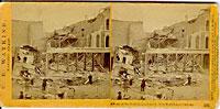 985 - Effects of the Earthquake, Oct. 21, 1868, Market and First sts.