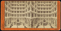 1663 - Palace Hotel, S.F., Interior View