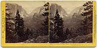 1136 - The Yosemite Valley, from the Mariposa Trail