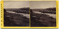 #1214 - Panorama of Oregon City and the Willamette Falls #1