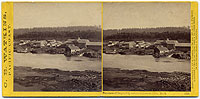 1215 - Panorama of Oregon City and the Willamette Falls #2