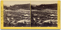 1268 - Salmon Fishing in the Cascades, Columbia River