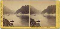1293 - View on Columbia River from Oregon Railroad, Cascades