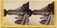 1297 - The Tooth Bridge, O. R. R., Cascades, Columbia River