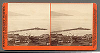 1340 - Panorama of San Francisco from Telegraph Hill (No. 3). Meiggs' Wharf