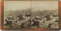1349 - Panorama of San Francisco from Telegraph Hill (No. 12). The Lumber Wharves.