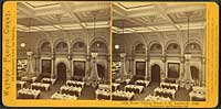 1746 - Lick House, Dining Room, J.W. Lawlor & Co., Proprietors, San Francisco, Cal.