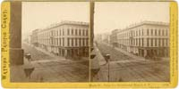 Bush St., from the Occidental Hotel, S.F., View West