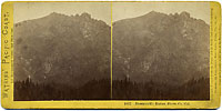 1837 - Downieville Buttes, Sierra Co., Cal.
