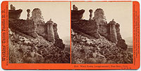 2759 - Witches Rocks , (conglomerate), Near Echo, Utah. U.P.R.R.